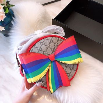 GUCCI GG Cute Bow Mini Crossbody Bag