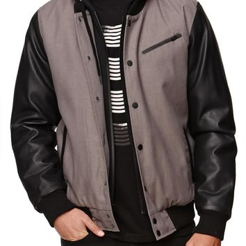 Hurley All City Biker Jacket - Mens Jacket