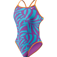 Nike Swim Women's Reversible Cut Out Tank at SwimOutlet.com - Free Shipping