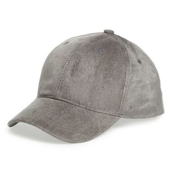 BP. Faux Suede Ball Cap | Nordstrom
