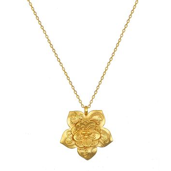 Enchanted Beginnings Gold Necklace