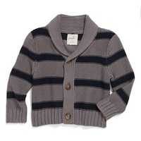 Peek 'Highland' Stripe Cardigan (Baby Boys) | Nordstrom