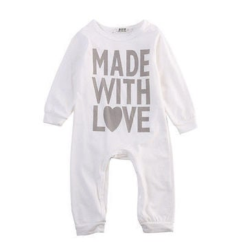 Baby Long Sleeve Jumpsuit Rompers