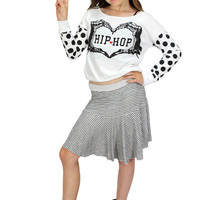Dirtee Hollywood Dance Hip Hop So Spotty Top | Mod Angel
