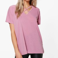 Maddison Strap Detail Fine Knit Top | Boohoo