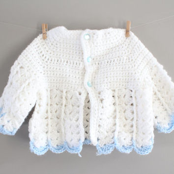 069fa4a32 Best Hand Knitted Baby Cardigans Products on Wanelo