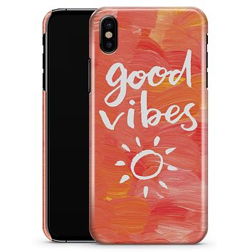 Good Vibes - iPhone X Clipit Case