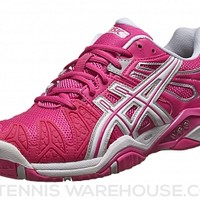Asics Gel Resolution 5 Pink/White Women's Shoes