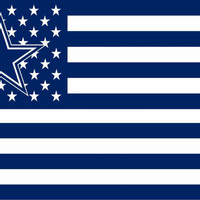 Dallas Cowboys flag 3ftx5ft polyester + Free Shipping