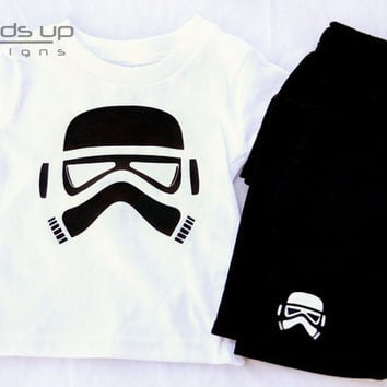 Boys Star Wars Pajamas - Toddler Pajamas Star Wars - Storm Trooper Pajama Set - Kids Star Wars Pajamas - Star Wars Pajamas -