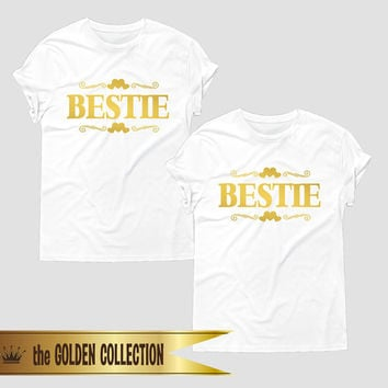 Bestie t-shirt, Bff shirts, Best friend t shirts, best friend gift, best friend clothing, bff clothes, matching bff t shirts