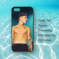 Justin Bieber, iphone 5 case, iphone 4 case, ipod 4 case, ipod 5 case, note 2, Samsung galaxy S3, Samsung galaxy S4, blackberry z10, q10