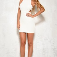 Sudden Departure Dress Cream