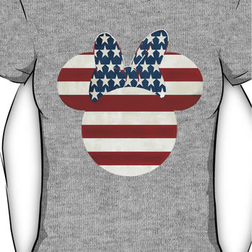 American Minnie Mouse Women's T-Shirt