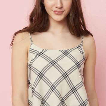 Flannel Cami