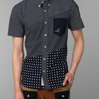 Urban Outfitters - Staple Infield Short Sleeve Dot Shirt