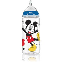 NUK Disney Mickey Mouse 10 Ounce Orthodontic Bottle, 3-Pack, Med Flow, Silicone - Walmart.com