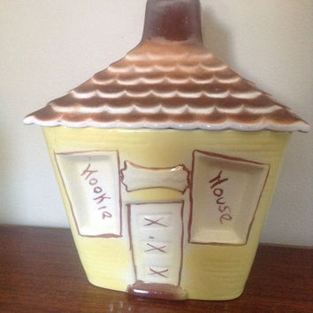 "Kookie House Cookie Jar 8.5"" X 7"" X 11.5"""