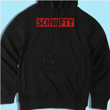 Get Schwifty Rick And Morty Rick And Morty Inspired Film Movie Cartoon 90S Men'S Hoodie