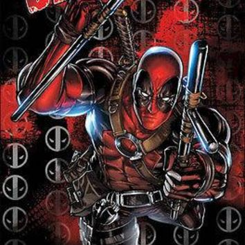 "Marvel Comics Deadpool Poster Picture Art Print 22""x34"" OFFICIAL LICENSED NEW"