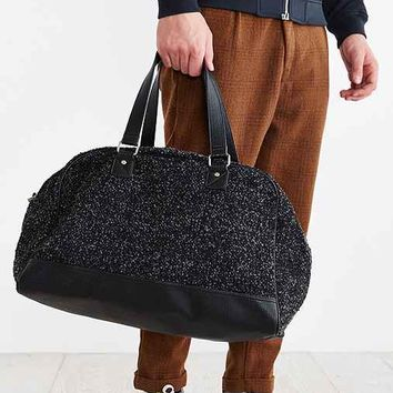 Mosson Bricke Boucle Bowler Bag- Black One