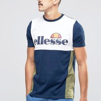 Ellesse | Ellesse Block T-Shirt at ASOS