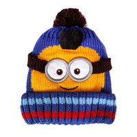 Baby Minions Cotton Toca Skullies & Beanies for Boy and Girl