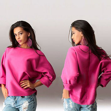 T-shirts Round-neck Plus Size Tops Hoodies [7322496193]