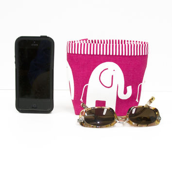 Car Cellphone Caddy ~ Pink Elephant
