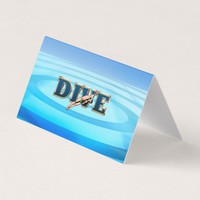 TOP Dive Business Card