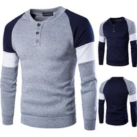 Plus Size Men's Fashion Men Pullover Hoodies Stylish Tops Jacket [6528676355]