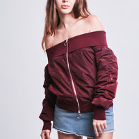 Off the Shoulder Bomber