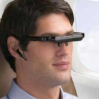 Digital Video Glasses for iPod and iPhone at Brookstone $100