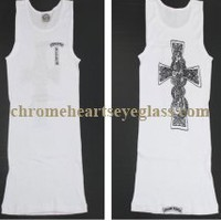 Chrome Hearts T Bar Print V9 White Tank Top [V9 White Tank Top] - $134.99 : Chrome hearts online shop:chrome hearts jewelry 2012 collection!
