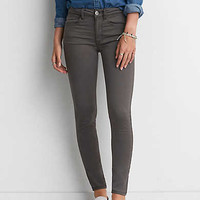 AEO Sateen X Jegging, Gray
