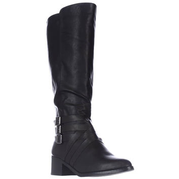 MIA Noralee Knee-High Riding Boots - Black