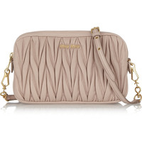 Miu Miu - Matelassé leather shoulder bag