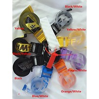 Off White Belt Unisex Hip Hop Fashion Style Skateboard Army Military OW Virgil Abloh Belts