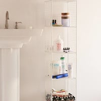 Slim Perforated Metal Storage | Urban Outfitters