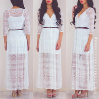 Free Your Mind Lace Dress