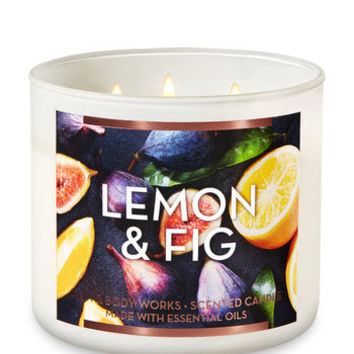 LEMON & FIG3-Wick Candle