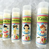 Pool Party Custom Lip Balm – Free Customization