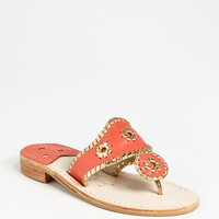 Women's Jack Rogers Whipstitched Flip Flop