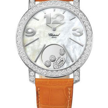 Chopard Happy Diamonds Mother-of-Pearl Dial 40mm 18k White Gold