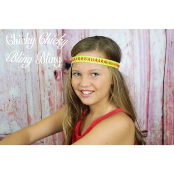 Tween Softball Flex Headbands