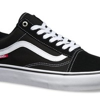 Vans Old Skool Pro-Black/White