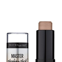 Maybelline New York Facestudio Master Strobing Stick Illuminating Highlighter, Medium - Nude Glow, 0.24 Ounce