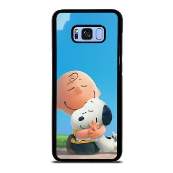 SNOOPY AND CHARLIE BROWN THE PEANUTS Samsung Galaxy S8 Plus Case Cover