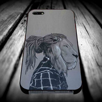 Rock Rasta Reggae Bob Marley beads Dreadlock African lion iPhone 4/4s/5/5s/5c/6/6 Plus Case, Samsung Galaxy S3/S4/S5/Note 3/4 Case, iPod 4/5 Case, HtC One M7 M8 and Nexus Case **