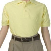 French Toast Boy's Short Sleeve Polo